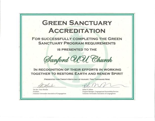 Green Sanctuary-